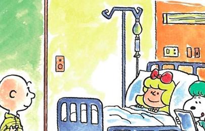Snoopy protagoniza un cuento contra la leucemia infantil