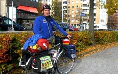 8.000 km en bici para concienciar sobre medio ambiente