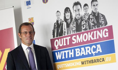 Deja de fumar con el Barça