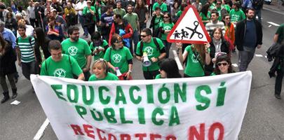 Padres, profesores y estudiantes contra la reforma educativa
