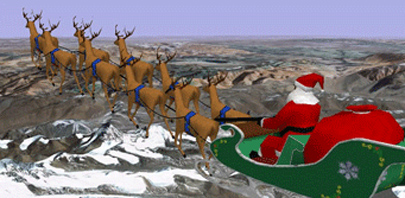 Sigue la ruta de Papá Noel con Google Maps