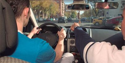 Ponen en marcha el nuevo examen práctico de conducir