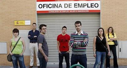 El paro juvenil en España llega al 57,6%