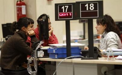 La tasa de paro juvenil alcanzó el 55,13% en 2012