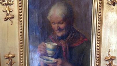 Una ONG descubre una valiosa pintura entre objetos donados