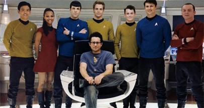 Cumplen el deseo de un enfermo de ver el nuevo filme de Star Trek