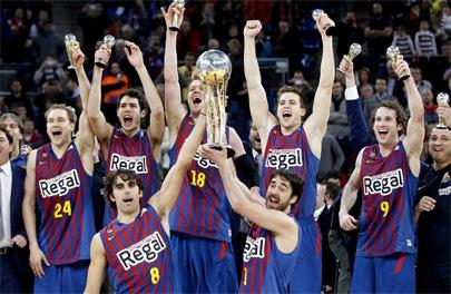 El Barça Regal, campeón de la Copa del Rey