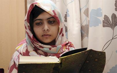 Malala nominada al Nobel de la Paz