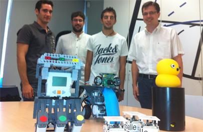 Creado un robot para el cuidado de niños en rehabilitación cognitiva