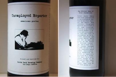 Reportero desempleado crea cerveza para periodistas