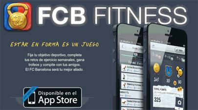 'FCB Fitness', en forma con la app del Barça