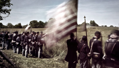 La Guerra Civil de EE.UU. a través de una cámara del año 1863