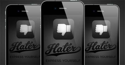 Comparte tu odio con 'Hater App'