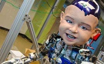Diego, el niño robot