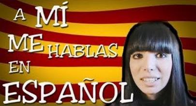 ¡A mí me hablas en español!