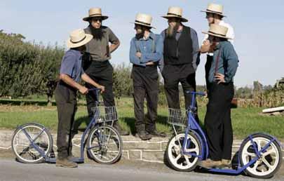 Los adolescentes Amish se asoman a Facebook