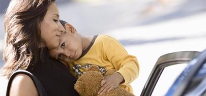 El cariño, bueno para el cerebro de los niños