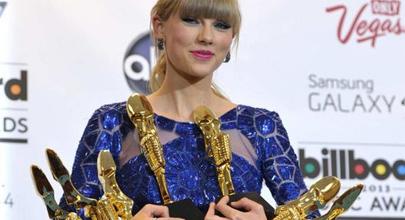 Taylor Swift, la gran triunfadora de los Billboard