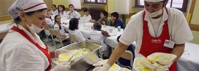 Bruselas defiende comedores escolares exentos del IVA