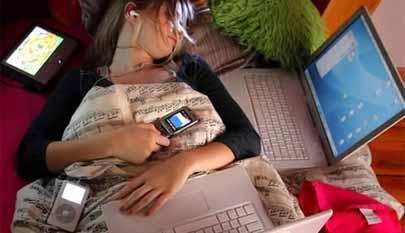 Los smartphones y tablets son malos para el sueño