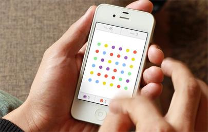 'Dots', un nuevo juego para móviles que causa furor
