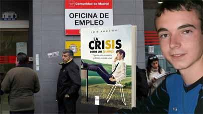 A los 16 años ha escrito un libro sobre la crisis
