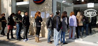 Grecia supera la tasa de paro juvenil española
