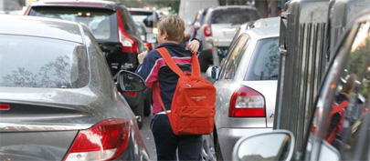 ¿Demasiado peso en la mochila?