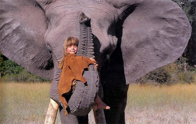 'La verdadera Mowgli' se llama Tippi