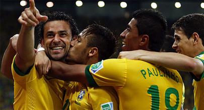 Brasil golea y se lleva la Confederaciones