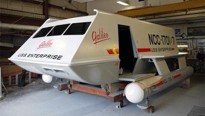 Fans de 'Star Trek' restauran la nave Galileo y la envían a la NASA