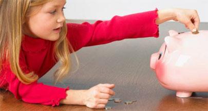 La crisis mengua la paga de los niños