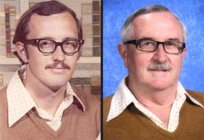 Posó para el anuario escolar con la misma ropa durante 40 años