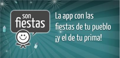 Dos jóvenes crean una app para seguir las fiestas de España