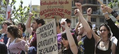 El Sindicato de Estudiantes convoca una huelga general en octubre
