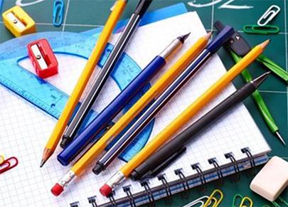 Campaña para conseguir lotes de material escolar