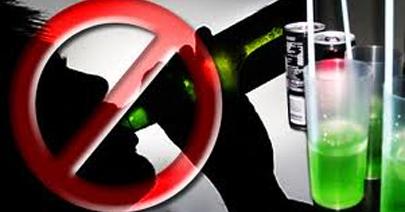 Peligro: no mezclar alcohol y bebidas energéticas