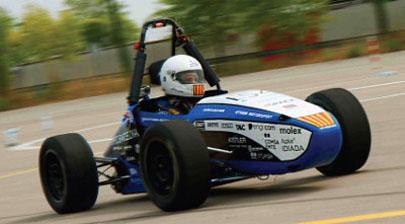 Estudiantes alemanes, protagonistas de la Formula Student Spain