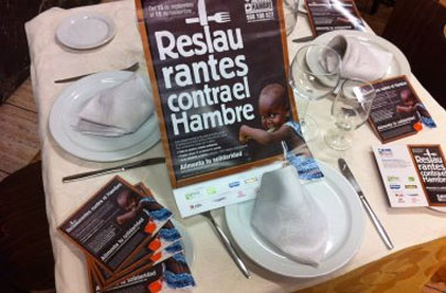 600 restaurantes unidos contra la desnutrición infantil