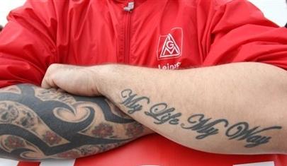 Los tatuajes no son buenos para encontrar trabajo