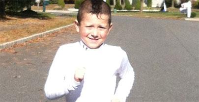 Con 5 años supera una media maratón en menos de dos horas y media