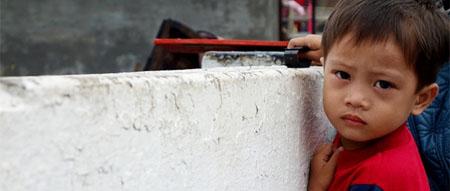 """""""La situación de la infancia en Filipinas es terrible"""""""