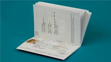 ¿Es un pasaporte perdido o un currículum?
