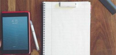 Equil Jot, un bolígrafo que digitaliza tus apuntes