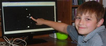 Niño de diez años descubre una nueva supernova