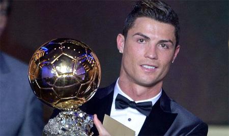 Cristiano Ronaldo, nuevo balón de oro