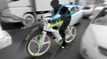 Llega la bici anti polución