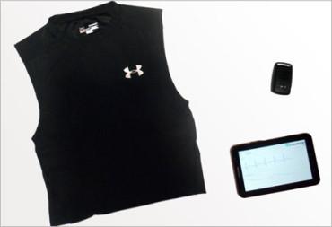 Nueva camiseta que controla tus constantes vitales y el esfuerzo físico