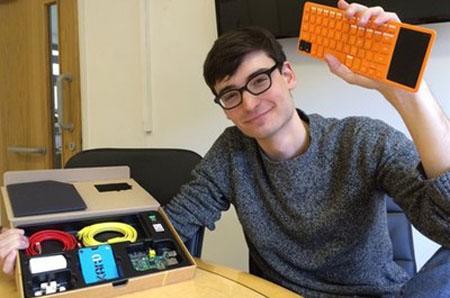 Un joven crea un ordenador de bajo coste para niños