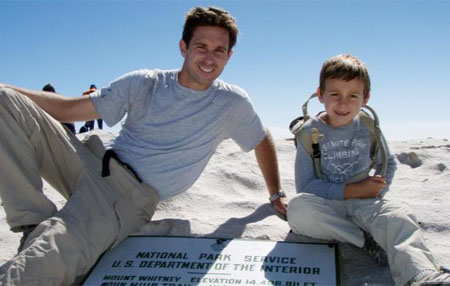 Niño de 9 años sube el Aconcagua